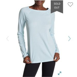 NWT Zella Hot Ticket Open Back Pullover